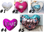 Heart mermaid pillow cases for sublimation