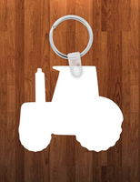Tractor Keychain - Single sided or double sided  -  Sublimation Blank