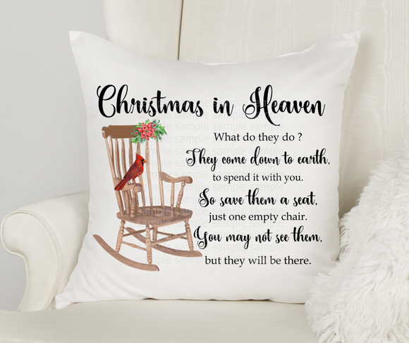 (Instant Print) Digital Download - Christmas in Heaven