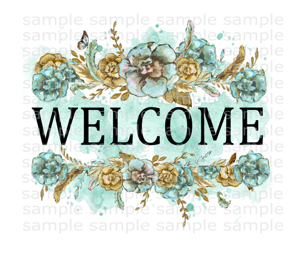 (Instant Print) Digital Download - Welcome boho design