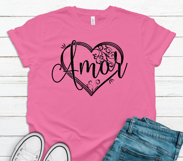 (Instant Print) Digital Download - Amor heart