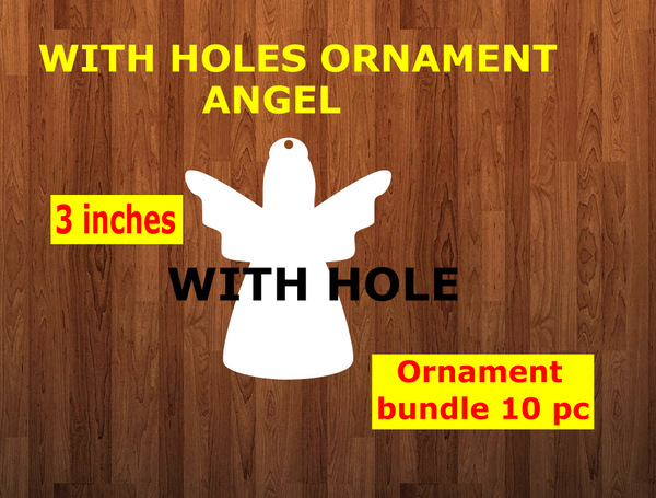 10pc or 25pc  Angel With hole - Ornament Bundle Price