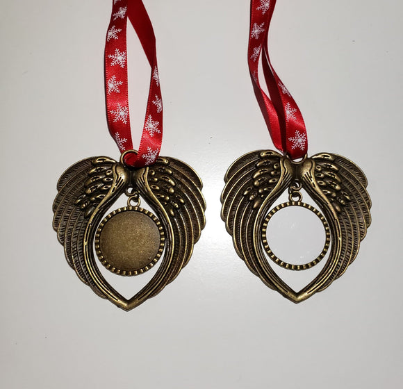 Single or bulk options - Angel Ornament for sublimation