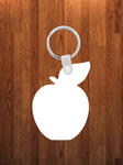 Apple Keychain - Single sided or double sided  -  Sublimation Blank