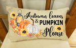 (Instant Print) Digital Download - Autumn leaves and pumpkin please