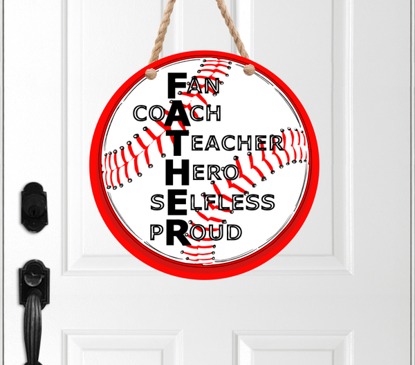 (Instant Print) Digital Download - Baseball FATHER