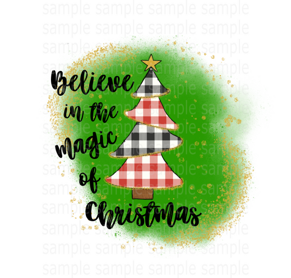(Instant Print) Digital Download - Believe in the magic of Christmas