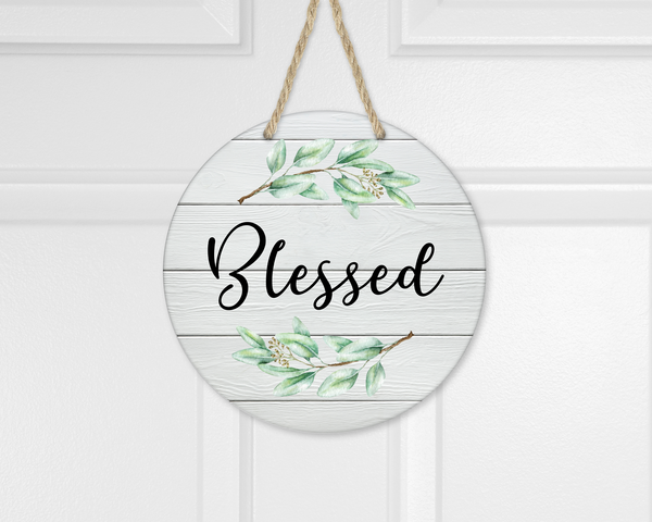 Digital download - Blessed  - made for our sub blanks