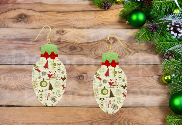 Sublimation print ONLY -  Christmas bulb- Made for our MDF sublimation