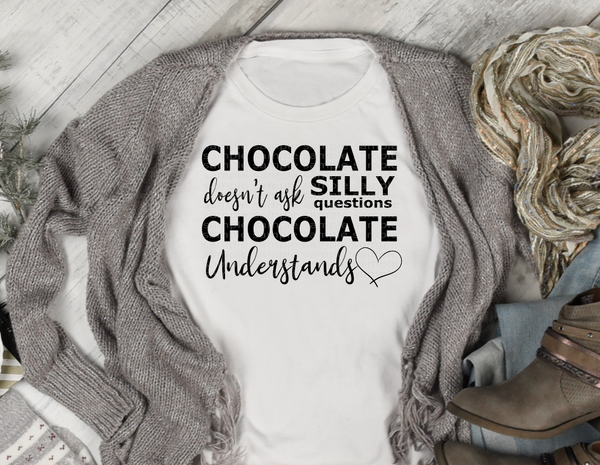 Chocolate understands screen print