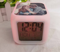 LED color changing clock blank , they are great for Sublimation!!!
