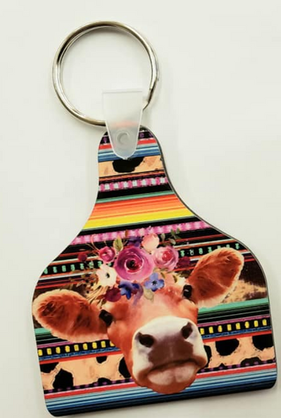 Sublimation print - Cattle tag cow sublimation