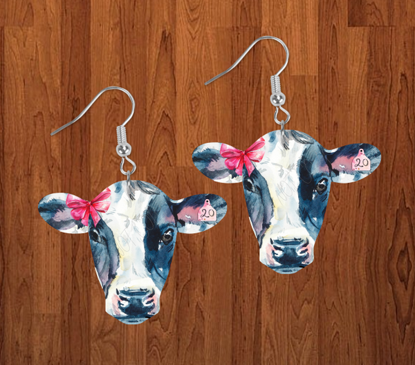 Digital download -  Cow head designs  - made for our sub blanks