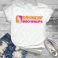 Sublimation print - Drinkin Grownups