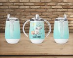 (Instant Print) Digital Download - Personalize your sippy cup elephant Designs , made for our sippy cups