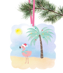(Instant Print) Digital Download - Flamingo  ornament - Made for our malin blanks