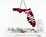 (Instant Print) Digital Download -  Florida Plaid State Design - Made for our  blanks