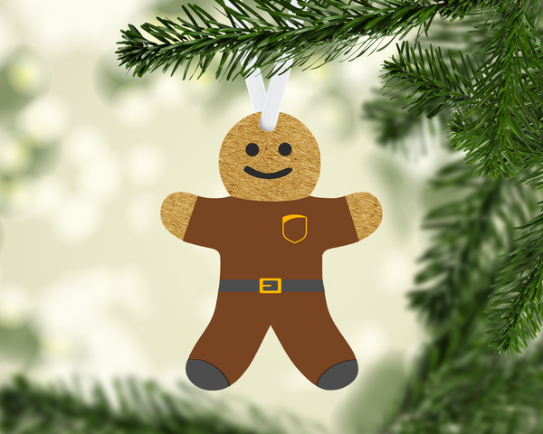 (Instant Print) Digital Download - Gingerbread man delivery man design - made for our blanks