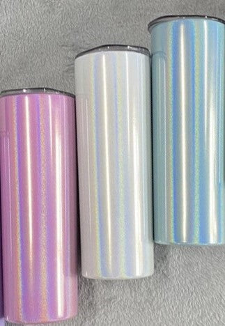 Shimmer 20oz Skinny Tapered Tumbler - Sublimation Ready