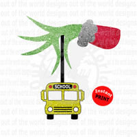 School Bus  (Instant Print) Digital Download