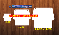 House with holes - Wall Hanger - 3 sizes to choose from -  Sublimation Blank  - 1 sided  or 2 sided options