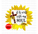 It is well with my soul (Instant Print) Digital Download