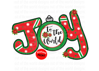 Joy to the world (Instant Print) Digital Download