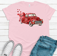 Screen print -  Loved truck