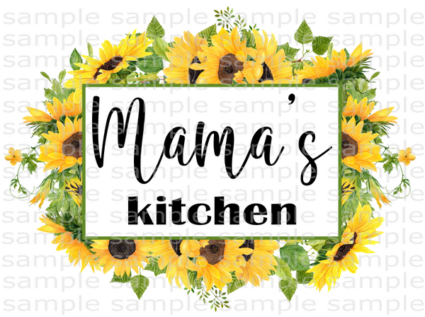 (Instant Print) Digital Download - Mama's Kitchen