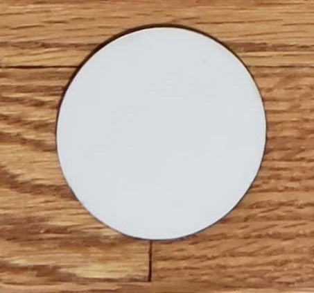 3 inch rounds for our mdf sublimation boards - 1pc ,  2pc price and  4pc price