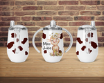 (Instant Print) Digital Download - Moo juice sippy cup flower Designs , made for our sippy cups