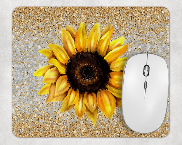 Sublimation Print (ONLY) - Sunflower Mouse Pad - Made for our square mouse pads
