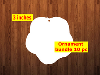 Morning glory shape 10pc or 25 pc  Ornament Bundle Price
