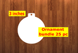 Bulb shape 10pc or 25 pc Ornament Bundle Price