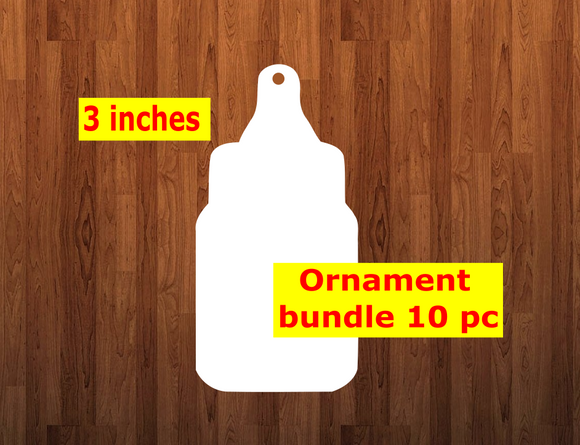 Bottle shape 10pc or 25 pc Ornament Bundle Price