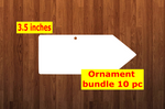 Pencil 10pc or 25 pc Ornament Bundle Price