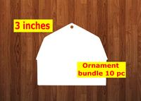 Barn 10pc or 25 pc Ornament Bundle Price