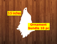 Gnome WITHOUT feet 10pc or 25 pc Ornament Bundle Price