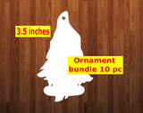 Gnome with feet shape 10pc or 25 pc Ornament Bundle Price