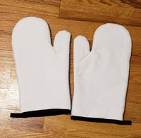 2 pc Left and Right Oven Mitt Set