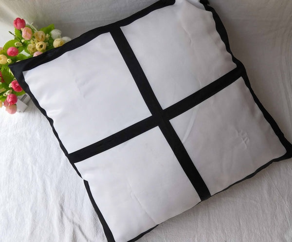 Double sided 4 Panel Pillow Case - Polyester Satian finish