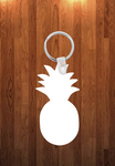 Pineapple Keychain - Single sided or double sided  -  Sublimation Blank