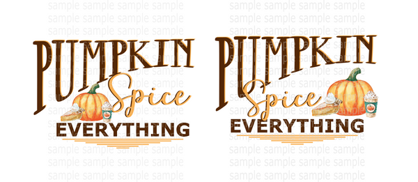 (Instant Print) Digital Download - Pumpkin spice bundle 2pc