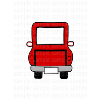 (Instant Print) Digital Download - Red truck