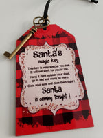 (Instant Print) Digital Download -  Santa Key Design