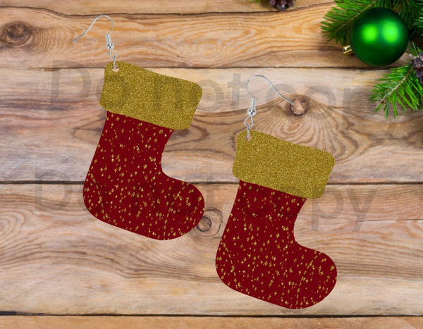 Sublimation print ONLY - Glitter stocking - Stocking   - Made for our MDF sublimation
