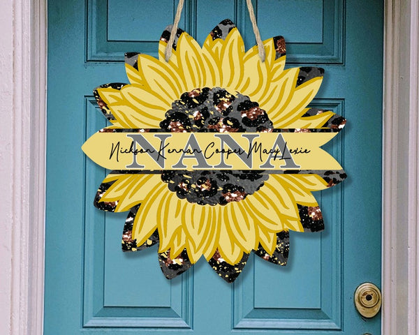 Sublimation print - Personalize your NANA sunflower - Made for our MDF sublimation blanks