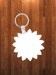 Sunflower Keychain - Single sided or double sided  -  Sublimation Blank