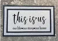 (Instant Print) Digital Download - This is us our lie, our story, our life