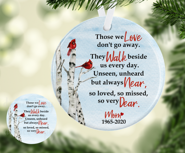 (Instant Print) Digital Download -Those we love round - made for our blanks